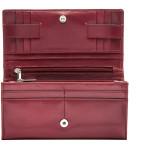 Dámská kožená peněženka SEGALI 6362V05 cherry red