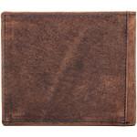 Pánská kožená peněženka SEGALI 614827 A tm. hnědá