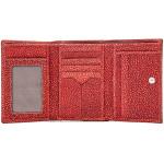Dámská kožená peněženka SEGALI 60100 W červená
