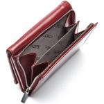 Dámská kožená peněženka SEGALI 60100 B cherry red