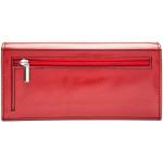 Dámská kožená peněženka SEGALI 60225 červená/černá