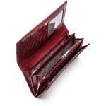 Dámská kožená peněženka SEGALI 60225 cherry red