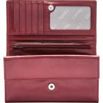 Dámská kožená peněženka SEGALI 61336 A cherry red