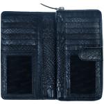Dámská kožená peněženka SEGALI 910 19 9124 navy
