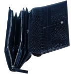 Dámská kožená peněženka SEGALI 910 19 9125 navy