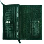 Dámská kožená peněženka SEGALI 910 19 9125 zelená