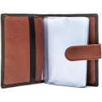 Pánská kožená peněženka SEGALI 5001-46 černá/koňaková