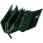 Dámská kožená peněženka SEGALI 910 19 704 zelená