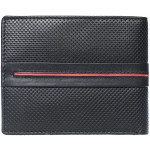 Pánská kožená peněženka SEGALI 2782 černá/červená