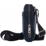 Pánská kožená taška přes rameno SEGALI 2012 tmavě modrá