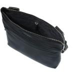 Pánský kožený crossbag SEGALI 439 černý