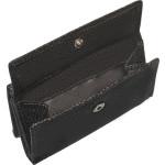 Dámská kožená peněženka SEGALI SG 100 černá/červená WO