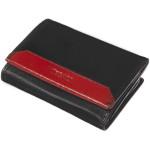 Dámská kožená peněženka SEGALI 100B černá/červená