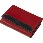 Dámská kožená peněženka SEGALI 100B červená