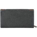 Dámská kožená peněženka SEGALI 61288 WO černá/hnědá