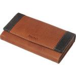 Dámská kožená peněženka SEGALI SG 61288 WO oranžová/černá