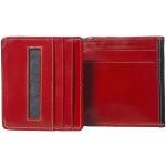 Dámská kožená peněženka SEGALI SG 150719 černá/červená