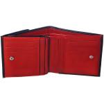 Dámská kožená peněženka SEGALI SG 60337 černá/červená