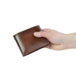 Pánská kožená peněženka SEGALI SG 103A hnědá