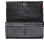 Dámská kožená peněženka SEGALI SG 2025A černá/červená
