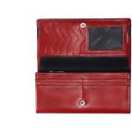 Dámská kožená peněženka SEGALI SG 2025A červená/černá
