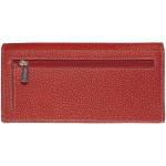 Dámská kožená peněženka SEGALI 2025 A WO červená/černá