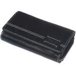 Dámská kožená peněženka SEGALI SG 1770 buff cedar černá