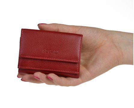 Dámská kožená peněženka SEGALI 1756 červená
