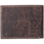 Pánská kožená peněženka SEGALI 1606 cow lunar hnědá/tan