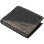 Pánská kožená peněženka SEGALI 1301K cow lunar černá/šedá