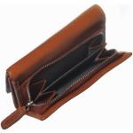 Dámská kožená peněženka SEGALI SG 870Z tan