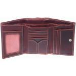 Dámská kožená peněženka SEGALI SG 7023 červená
