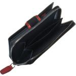 Dámská kožená peněženka SEGALI 1619 B černá/červená