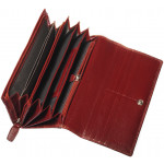 Dámská kožená peněženka SEGALI SG 7017 fuchsia