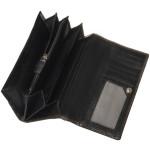 Dámská kožená peněženka SEGALI 7011 černá