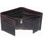 Pánská kožená peněženka SEGALI SG 7019 C hnědá