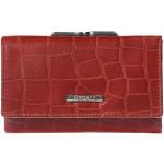 Dámská kožená peněženka SEGALI 3305 croco červená