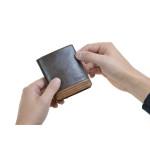 Pánská kožená peněženka SEGALI W81042 hnědá/tan