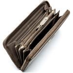 Dámská kožená peněženka SEGALI 4990 W šedá