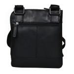 Pánský kožený crossbag SEGALI 25579 černý