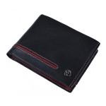 Pánská kožená peněženka SEGALI 753 115 026 černá/červená