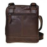 Pánská kožená taška přes rameno SEGALI 25579 hnědá