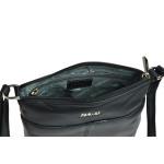 Dámská kabelka kožená SEGALI 7001 černá
