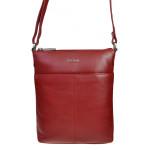 Dámská kožená kabelka SEGALI 7001 červená
