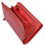 Dámská kožená peněženka SG 7051 ST červená
