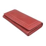Dámská kožená peněženka SEGALI 7052 červená