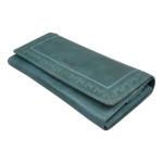 Dámská kožená peněženka SEGALI 7052 zelená