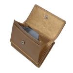 Dámská kožená peněženka SEGALI 1756 zlatá