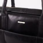 Pánská kožená taška SEGALI 7009 černá