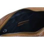 Pánská kožená taška přes rameno SEGALI 1110 koňak